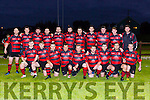 The Killarney  RFC team that played Castleisland  in the league under floodlights in Castleisland on Friday evening