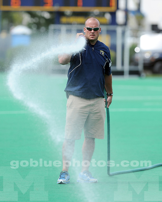 The University of Michigan women's field hockey team beat Delaware, 4-1, at Ocker Field in Ann Arbor, Mich., on September 1, 2012.