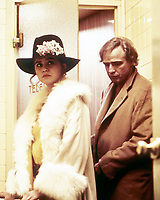 American actor Marlon Brando (1924 - 2004) and French actress Maria Schneider (1952 - 2011) as Jeanne in Last Tango in Paris (1972)<br /> Ultimo tango a Parigi (original title)<br /> *Filmstill - Editorial Use Only*<br /> CAP/RFS<br /> Image supplied by Capital Pictures