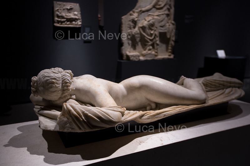 Ermafrodito dormiente.<br />
