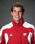2010-11 UW Swimming and Diving Team - Michael Weiss. (Photo by David Stluka)