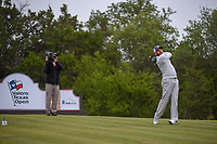 Sergio Garcia (ESP) watches his tee shot on 15 during Round 2 of the Valero Texas Open, AT&T Oaks Course, TPC San Antonio, San Antonio, Texas, USA. 4/20/2018.<br /> Picture: Golffile | Ken Murray<br /> <br /> <br /> All photo usage must carry mandatory copyright credit (© Golffile | Ken Murray)