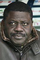 31st March 2020, France; It has been announced that Pape Diouf, ex-President of League 1 football club in France has died from Covid-19 Coroma Virus. FRENCH CHAMPIONSHIP 2008/2009 - FC SOCHAUX v OLYMPIQUE MARSEILLE