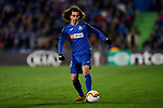 Marc Cucurella of Getafe FC during UEFA Europa League match between Getafe CF and AFC Ajax at Coliseum Alfonso Perez in Getafe, Spain. February 20, 2020. (ALTERPHOTOS/A. Perez Meca)