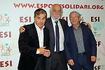 XIV Sopar Solidari de Nadal.<br /> Esport Solidari Internacional-ESI.<br /> Pedro Ruiz, Josep Maldonado &amp; Joan Pere.