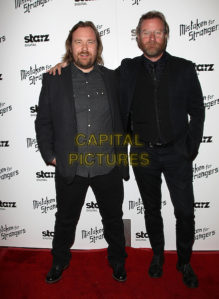 25 March 2014 - Los Angeles, California - Tom Berninger, Matt Berninger. Los Angeles Screening Of &quot;Mistaken For Strangers&quot; Los Angeles Gala Dinner Held at The Shrine Auditorium. <br /> CAP/ADM/FS<br /> &copy;Faye Sadou/AdMedia/Capital Pictures