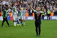 Millwall's Ben Thompson celebrates their victory after the match during Bradford City vs Millwall, Sky Bet EFL League 1 Play-Off Final at Wembley Stadium on 20th May 2017