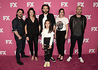 BEVERLY HILLS - AUGUST 6:  Justin Rosniak, Michele Bennett (Producer), Nash Edgerton (Executive Producer / Director / Guest Star), Chika Yasumura, Brooke Satchwell and Scott Ryan (Creator / Executive Producer / Writer) at the FX Networks Star-Walk red carpet at the Summer 2019 TCA Press Tour at the Beverly Hilton on August 6, 2019 in Los Angeles, California. (Photo by Scott Kirkland/FX Networks/PictureGroup)