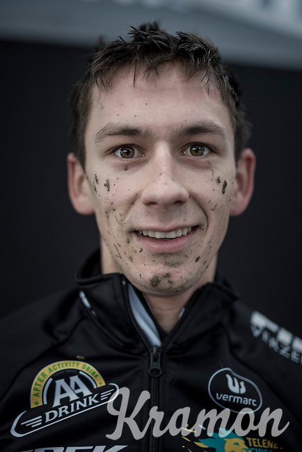 Lars van der Haar (NED/Telenet-Fidea) post-race<br /> <br /> elite men's race<br /> CX Superprestige Noordzeecross <br /> Middelkerke / Belgium 2017
