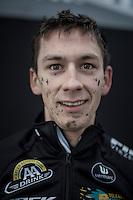 Lars van der Haar (NED/Telenet-Fidea) post-race<br /> <br /> elite men's race<br /> CX Superprestige Noordzeecross <br /> Middelkerke / Belgium 2017