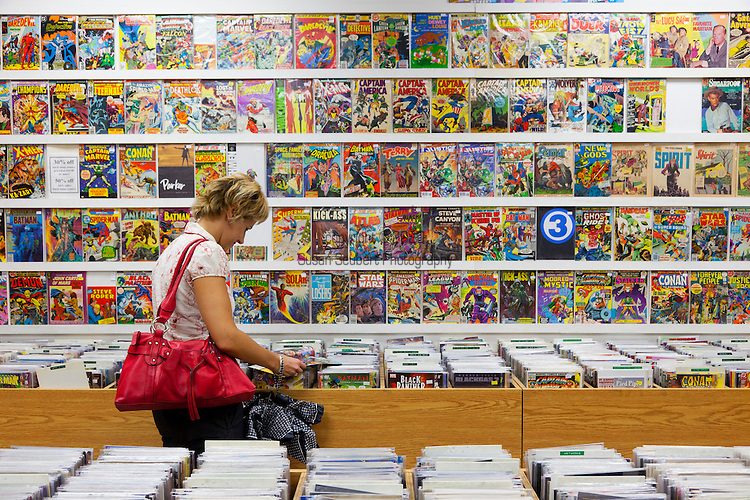 Dragon Lady Comics in Little Italy sells comic books, vintage magazines and classic comic strip reprints. This is also considered part of The Annex neighborhood.