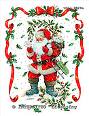 GIORDANO, CHRISTMAS SANTA, SNOWMAN, WEIHNACHTSMÄNNER, SCHNEEMÄNNER, PAPÁ NOEL, MUÑECOS DE NIEVE, paintings+++++,USGI2029A,#X#