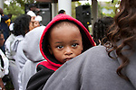 Child at Trayvon Martin Rally