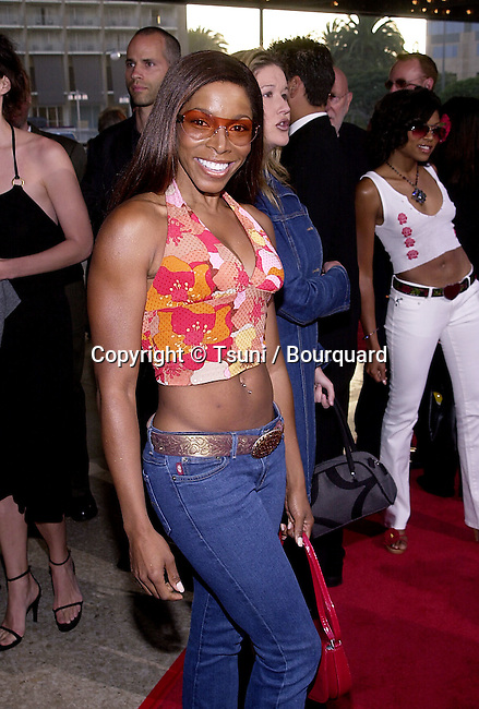 """HJ Johnson arriving at the premiere of """"What's The Worst Could Happen"""" at the ABC Theatre in Century City in Los Angeles  5/22/2001  © Tsuni          -            JohnsonHJ05.jpg"""