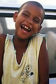 Cachoeira, Brazil. Smiling Afro-Brazilian boy. Bahia State.