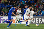 GETAFE, SPAIN - DECEMBER 12: FC Krasnodar's Tonny Vilhena and Wanderson  in action during the UEFA Europa League group C match between Getafe CF and FK Krasnodar at Coliseum Alfonso Perez on December 12, 2019 in Getafe, Spain. <br /> (ALTERPHOTOS/David Jar)