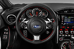 Car pictures of steering wheel view of a 2018 Subaru BRZ Limited 2 Door Coupe Steering Wheel