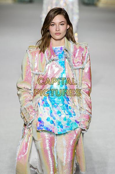 BALMAIN<br /> AW 18, Fall 2018<br /> Paris Fashion Week,  Paris, France in March 2018.<br /> CAP/GOL<br /> &copy;GOL/Capital Pictures