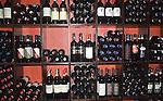 Wine Rack, Graziano Restaurant, Miracle Mile, Miami, Florida