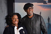 Samuel L jackson &amp; LaTanya Richardson at the premiere for &quot;Kong: Skull Island&quot; at Dolby Theatre, Los Angeles, USA 08 March  2017<br /> Picture: Paul Smith/Featureflash/SilverHub 0208 004 5359 sales@silverhubmedia.com