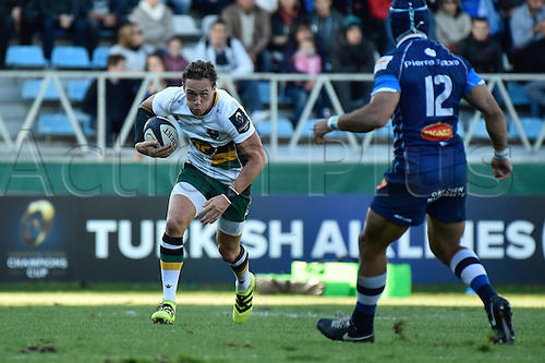 22.10.2016. Castres, Languedoc, France. Champions Cup rugby union. Castres versus Northampton.  James Wilson (no)