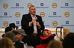 "Western Nevada College President Vincent Solis speaks at the ""We Are Western"" event hosted by the Western Nevada College Foundation, in Carson City, Nev., on Friday, March 8, 2019. <br /> Photo by Cathleen Allison/Nevada Momentum"