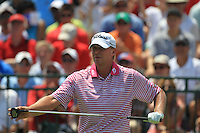 Steve Stricker (USA) prepares to tee off the 1st tee to start his match Sunday's Final Round of the 94th PGA Golf Championship at The Ocean Course, Kiawah Island, South Carolina, USA 11th August 2012 (Photo Eoin Clarke/www.golffile.ie)