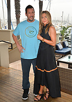 "LOS ANGELES, USA. June 11, 2019: Jennifer Aniston & Adam Sandler at the photocall for ""Murder Mystery"" at the Ritz Carlton, Marina del Rey.<br /> Picture: Paul Smith/Featureflash"