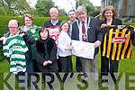 Mayor of Killarney, Sean Counihan, has this week launched the official Mayors ball which will raise funds for Kerry Stars Special Olympics Club. .Front L-R  Timmy O'Sullivan, Martina Healy, Claire Spillane, Mayor Sean Counihan and Emer Corridan .Back L-R Breda O'Sullivan, John Spillane and Paudie Healy.