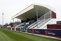General view of the main stand during West Ham United Women vs Arsenal Women, FA Women's Super League Football at Rush Green Stadium on 6th January 2019