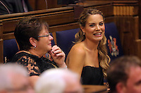 Pictured: Charlotte Jackson (R) Thursday 20 October 2016<br />