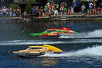 "Eric Langevin, GP-12 and Patrick Haworth, GP-57 ""H2Racing""(Grand Prix Hydroplane(s)"