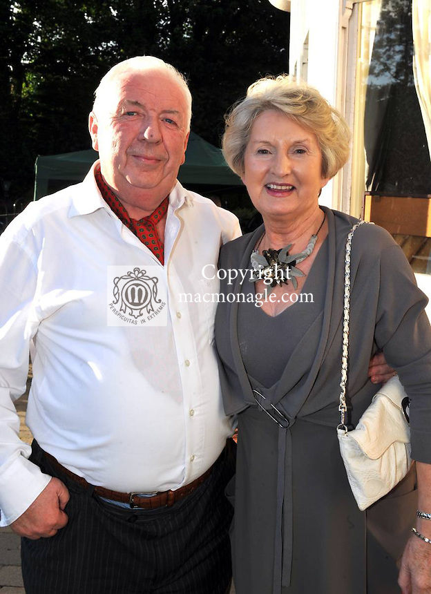 Pictured at the Randles Hotel, Elegance & Decadence Après Race Partyon Thursday evening were John O'Riordan and Pat Cleary, Killarney..Picture by Don MacMonagle..PR photo from Randles Hotel