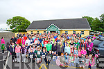 CROWD: What a day the Kilmoyley Community had as the crowd that ran in the 1st Three Miler on Sunday morning.
