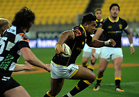 Julian Savea in action during the Mitre 10 Cup rugby union match between Wellington Lions and Hawkes Bay Magpies at Westpac Stadium, Wellington, New Zealand on Wednesday, 6 September 2017. Photo: Dave Lintott / lintottphoto.co.nz