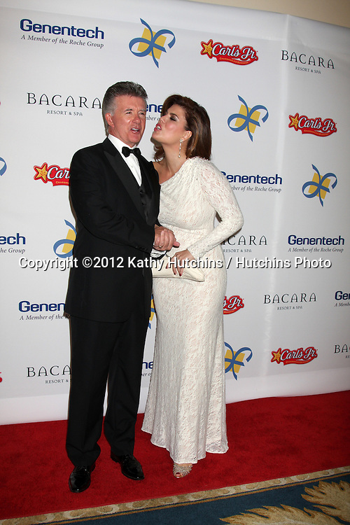 LOS ANGELES - NOV 16:  Alan Thicke, Wife arrives for the 11th Annual Celebration of Dreams at Bacara Resort & Spa on November 16, 2012 in Santa Barbara, CA.  Katy Perry and Nigel Lithgoe are being honored with the Founder's.Humanitarian Award as part of Dream Foundation's Celebration of Dreams gala.at the Bacara Resort in Santa Barbara. Dream Foundation is a national.organization that serves the final wishes of adults ? and their families ?.facing life-threatening illness.