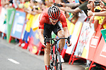 Nikias Arndt (GER) Team Sunweb from breakaway group wins Stage 8 of La Vuelta 2019 running 166.9km from Valls to Igualada, Spain. 31st August 2019.<br /> Picture: Luis Angel Gomez/Photogomezsport | Cyclefile<br /> <br /> All photos usage must carry mandatory copyright credit (© Cyclefile | Luis Angel Gomez/Photogomezsport)
