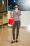 September 7, 2012, Narita, Japan - Australian model Miranda Kerr arrives at Narita International Airport in Chiba Prefecture, Japan. Kerr is in Japan to promote Samantha Thavasa. (Photo by Christopher Jue/AFLO)