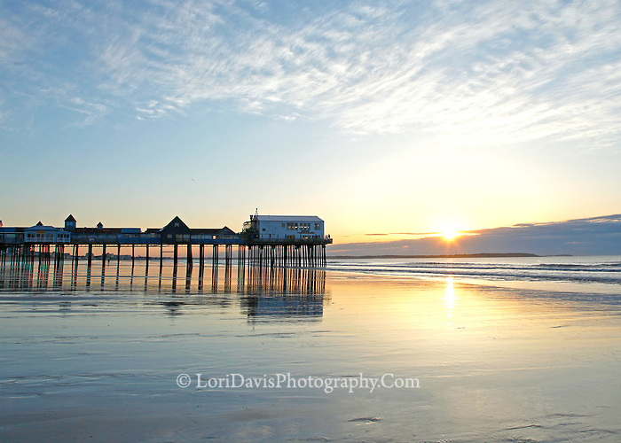 Sunrise at the Pier, Old Orchard Beach