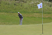 Rowan Lester (Hermitage) on the 4th during Round 1 of the The Amateur Championship 2019 at The Island Golf Club, Co. Dublin on Monday 17th June 2019.<br /> Picture:  Thos Caffrey / Golffile<br /> <br /> All photo usage must carry mandatory copyright credit (© Golffile | Thos Caffrey)