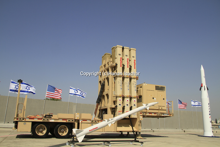 ?David's Sling? (?Sharvit Ksamim?) air defense system, produced by Israel's Rafael Advanced Defense Systems Ltd. and the American Raytheon Company