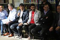 SAO PAULO, SP, 12.09.2013 - VISITA ZONA LESTE DE SAO PAULO - O prefeito Fernando Haddad durante visita ao CEU Três Pontes do bairro Jardim Romano, em São Miguel Paulista nesta quinta-feira, 12. (Foto: Vanessa Carvalho / Brazil Photo Press).