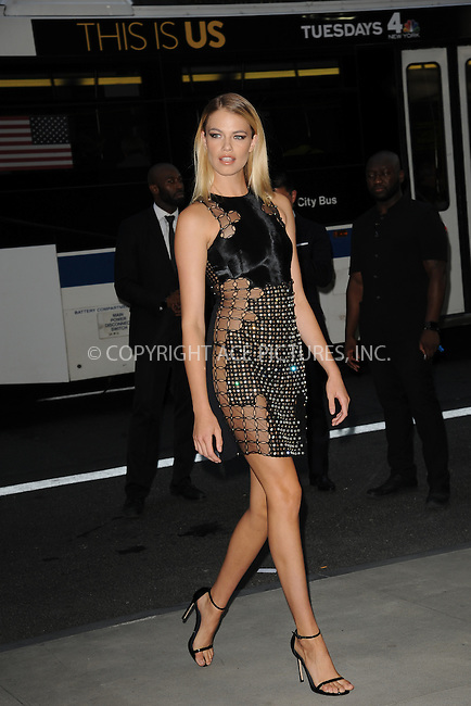 www.acepixs.com<br /> September 8, 2016  New York City<br /> <br /> Hailey Clauson attending the The Daily Front Row's 4th Annual Fashion Media Awards at Park Hyatt New York on September 8, 2016 in New York City. <br /> <br /> <br /> Credit: Kristin Callahan/ACE Pictures<br /> <br /> <br /> Tel: 646 769 0430<br /> Email: info@acepixs.com
