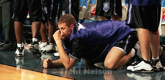 Weber State's Joey Haws in defeat as Weber State loses to Florida in the second round, NCAA Tournament<br />