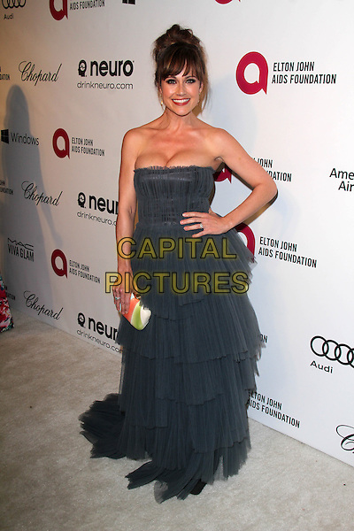 WEST HOLLYWOOD, CA - March 02: Nikki Deloach at the 22nd Annual Elton John AIDS Foundation Oscar Viewing Party, Private Location, West Hollywood,  March 02, 2014.  <br /> CAP/MPI/JO<br /> &copy;Janice Ogata/MediaPunch/Capital Pictures