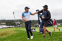 Danny Willett (GBR) departs the green on 6 during round 2 of the 2019 US Open, Pebble Beach Golf Links, Monterrey, California, USA. 6/14/2019.<br /> Picture: Golffile | Ken Murray<br /> <br /> All photo usage must carry mandatory copyright credit (© Golffile | Ken Murray)
