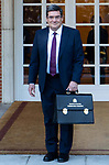 Spain's Minister of Social Security and Migration Jose Luis Escriva attends the first cabinet meeting of the new government. January 14,2020. (ALTERPHOTOS/Ander Beizama)