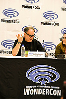 Javi Grillo-Marxuach at Wondercon in Anaheim Ca. March 31, 2019