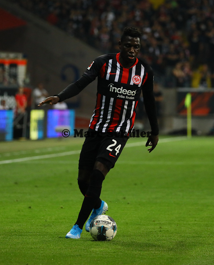 Danny da Costa (Eintracht Frankfurt) - 29.08.2019: Eintracht Frankfurt vs. Racing Straßburg, UEFA Europa League, Qualifikation, Commerzbank Arena<br /> DISCLAIMER: DFL regulations prohibit any use of photographs as image sequences and/or quasi-video.
