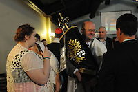 NWA Democrat-Gazette/FLIP PUTTHOFF <br /> YOM KIPPUR<br /> Paul Stuckey carries the Torah through the congregation on Wednesday Sept. 23 during a Yom Kippur service at Waterway Christian Church in Bentonville. Yom Kippur is a solemn day of fast in the Jewish faith. It is the last and most important of Judaism's 10 High Holy Days.